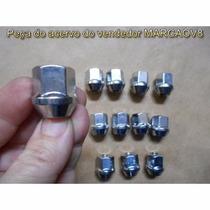 Porca Cromada Vazada Para Ford Corcel Belina Del Rey Pampa