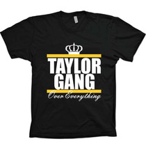 Camiseta Preta Hip Hop Diamond - Wiz Khalifa - Taylor Gang