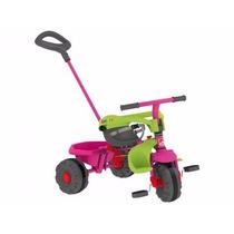 Triciclo Smart Plus Bandeirante Rosa - Ref. 281