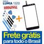Tela Touch Lumia 1320 Vidro Nokia N1320 Visor + Ferramentas!