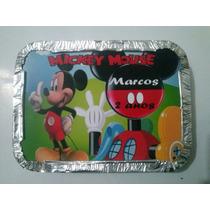 20 Marmitinhas Personalizadas Mickey Temos Outros Temas