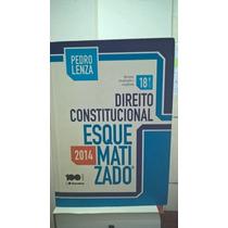 Livro Direito Constitucional Esquematizado- Pedro Lenza 18ed
