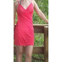 Vestido Saída De Praia Estampado -tamanhos P A G