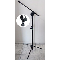 Pedestal Microfone Girafa - C/ 1 Cachimbo Incluso - Visão