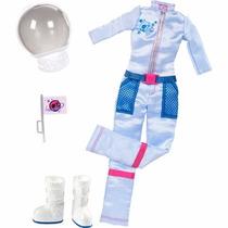 Roupinha E Acessórios Barbie Quero Ser Astronauta Mattel