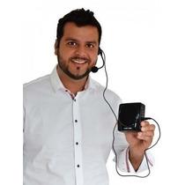 Kit Amplificador D Voz Megafone Microfone P/ Professores C01