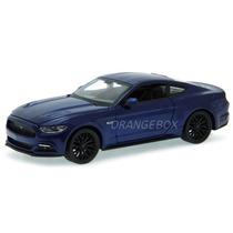 Ford Mustang Gt 5.0 2015 Maisto 1:24 Azul 31508-azul