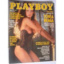 Revista Playboy 110 Set 1984 A Nudez De Sônia Braga
