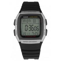Relógio Casio W-96h-1av Cronômetro Alarme Bateria 10 Anos