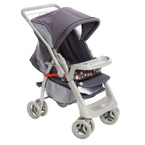 Carrinho De Bebê Galzerano - Pegasus Cinza