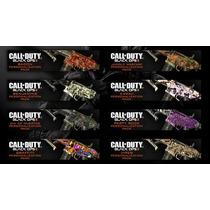 Camuflagem De Armas Call Of Duty Black Ops 2! 4,99 Cada