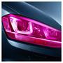 Película Adesivo Farol Lanterna Milha Carro Moto Rosa