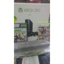 Xbox 360 + Hd 250gb + Kinect C/ + De 25 Jogos Originais