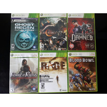 Combo De Jogos Originais Xbox 360 Por Apenas