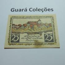 Cédula Notgeld 25 Pfennig 1923 - Lt0141