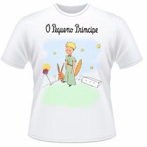 Camiseta Infantil O Pequeno Príncipe Raposa Camisa #2