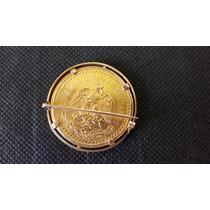 Relíquia Moeda De Ouro Mexicana 50 Pesos 1945.