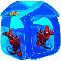 Barraca Casa Infantil Portátil Spider Man Zippy Toys Gf001c