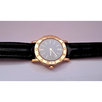 Relógio Bvlgari Bulgari Bb 26 Gl Feminino Quartzo Ouro