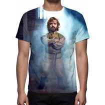 Camisa, Camiseta Game Of Thrones - Tyrion Lannister Mod 03