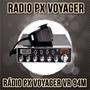 Radio Px Voyager Vr-94m Plus 271can Usb Frete Gratis Sedex
