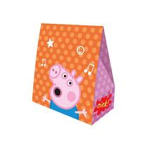 Caixa Surpresa De Aniversário Festa Peppa Pig - 8unid