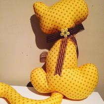 Almofada Gata Lilica (amarelo)