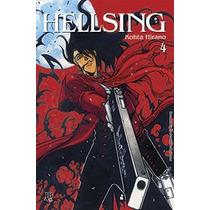 Mangás Hellsing Edição Especial - Volumes 1, 2, 3 E 4 Jbc