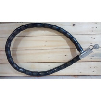 Cadeado Corrente Trava Espiral C/ Chave, Moto, Estepe