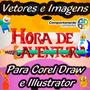 Vetores E Imagens Hora Da Aventura Adventure Time P/ Corel