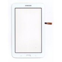 Tela Vidro Touch Sm-t110 Samsung Galaxy Tab 3 Lite Branca