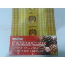 Embalagens De Trufa Sabor Abacaxi