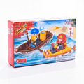 Blocos De Montar Tipo Lego Série Presente Barco 8025