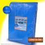 Lona Azul 10x5 Cobertura Reforçada Telhado Piscina 300 Micra
