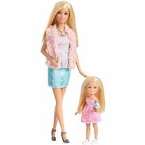 Barbie Family Dupla 3 É Demais Barbie E Chelsea Mattel