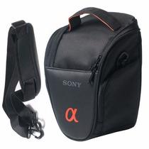 Case Bolsa Câmera Sony Alpha Hx400 Hx300 H100 H200 A37 A5