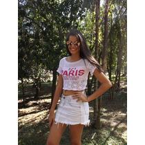 Blusa Tricôt Verão Feminino
