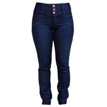 Calça Jeans Feminina Cós Largo - Tamanhos 38 Ao 60