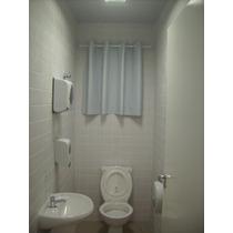 Cortina Blackout Para Banheiro 1,40largx1,00 Alt. Com Ilhóes