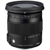 Lente Sigma Para Nikon 17-70mm