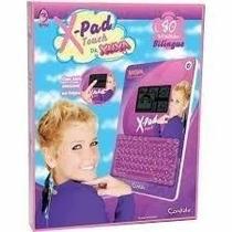 Tablet X Pad Touch Da Xuxa 80 Atividades Bilíngue Candide