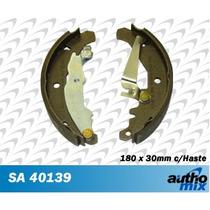 Sapata Lona Freio Fiat Siena 1.5 8v Autho Mix Sa40139
