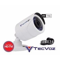Tcb-128m - Câmera Bullet Hd-tvi Ir 25m Tecvoz
