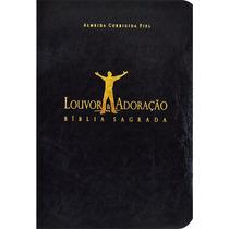Bíblia Louvor E Adoração - Capa Luxo Preta