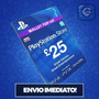 Psn Card 25 Libras - Cartão Playstation Network Uk Imbatível