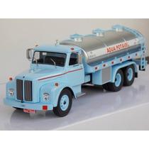 Miniatura Caminhão Scania Vabis Ls85 Agua Potável1970 1:43