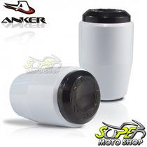 Slider Dianteiro Anker Gs 500 - Branco - Suzuki