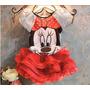 Vestido Fantasia Infantil Princesa Minnie Disney Crianças