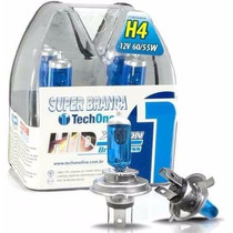 Lampada Super Branca H4 Tech One Farol Corsa Wind 94/01