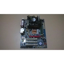 Kit Placa Mae Ddr2 + Processador D315 De 2.6 Ghz
